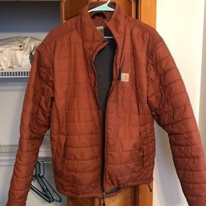 Large insulated Carhartt jacket - water repellent